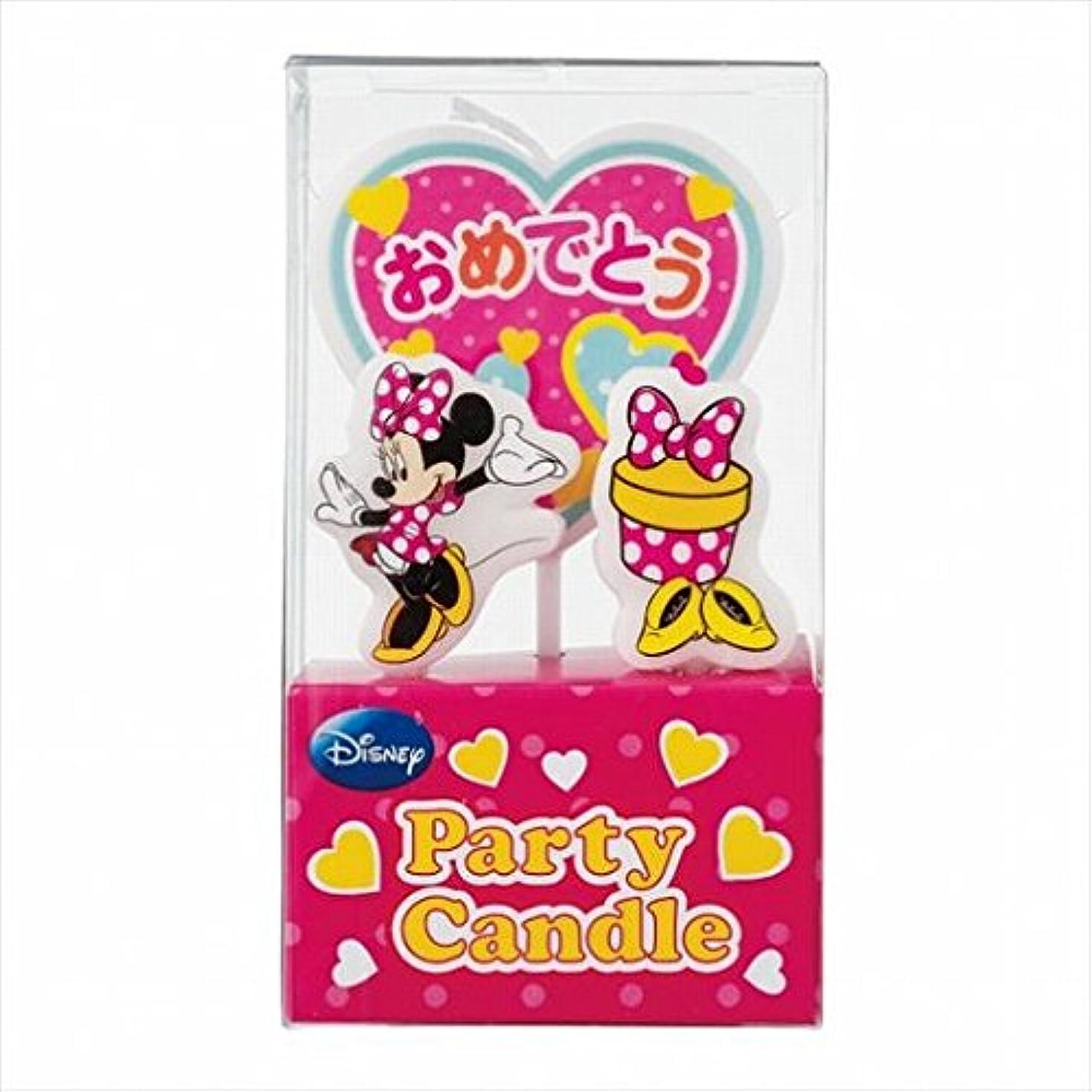 ディズニー( Disney ) ディズニーパーティーキャンドル【ケーキ用キャンドル】 「 ミニー 」