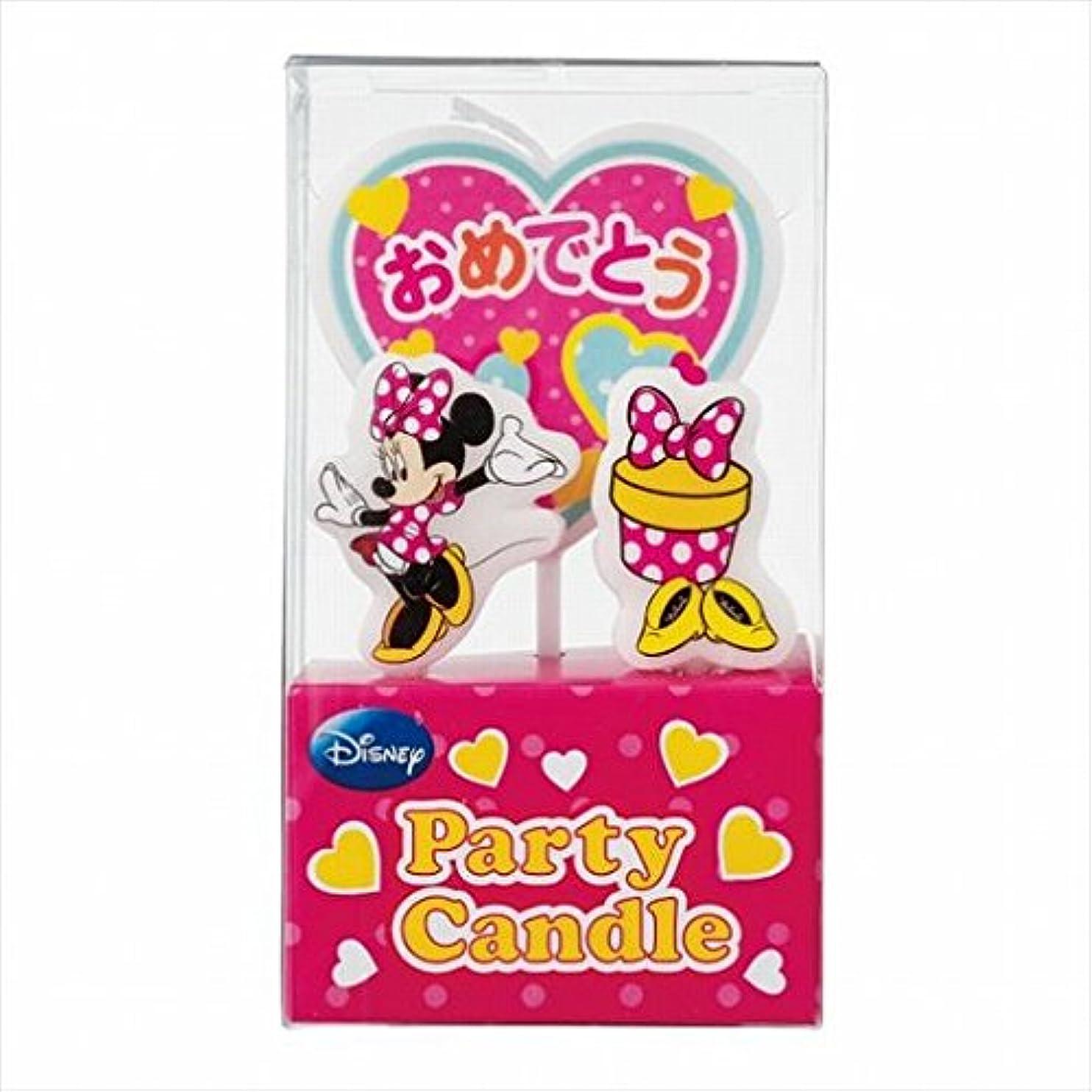 レンズレンダリングささいなディズニー( Disney ) ディズニーパーティーキャンドル【ケーキ用キャンドル】 「 ミニー 」