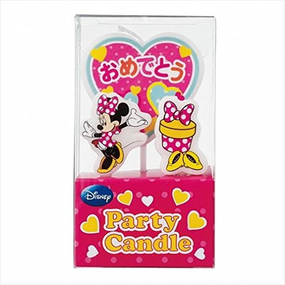 期待推定印象的ディズニー( Disney ) ディズニーパーティーキャンドル【ケーキ用キャンドル】 「 ミニー 」