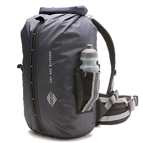 Aqua Quest(アクアクエスト) Sport 30 Pro 100%防水バックパック ドライバッグ 30L グレー