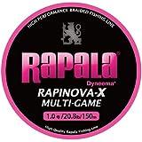 Rapala(ラパラ) ライン ラピノヴァX マルチゲーム ピンク 150m 1.0号