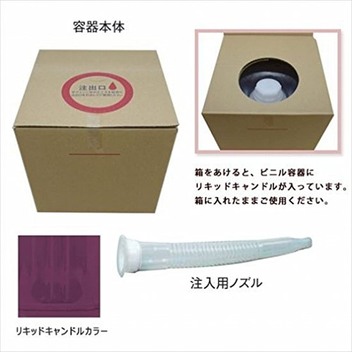 酔った作り些細なカメヤマキャンドル(kameyama candle) リキッドキャンドル5リットル 「 バイオレット 」