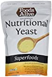 Foods Alive Nutritional Yeast Flakes, Vegetarian Support Formula, 6 Ounce by Foods Alive