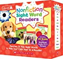 Scholastic Nonfiction Sight Word Readers レベル A 英語教材 25冊セット CD付