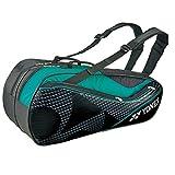 ヨネックス(YONEX) ラケットバッグ6(リュック付) BAG1722R 530 ブラック/グリーン