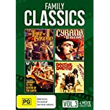 Family Classics: Volume 3 - The Thief of Bagdad / Cyrano de Bergerac /Journey to the Centre of the Earth / Doctor Dolittle