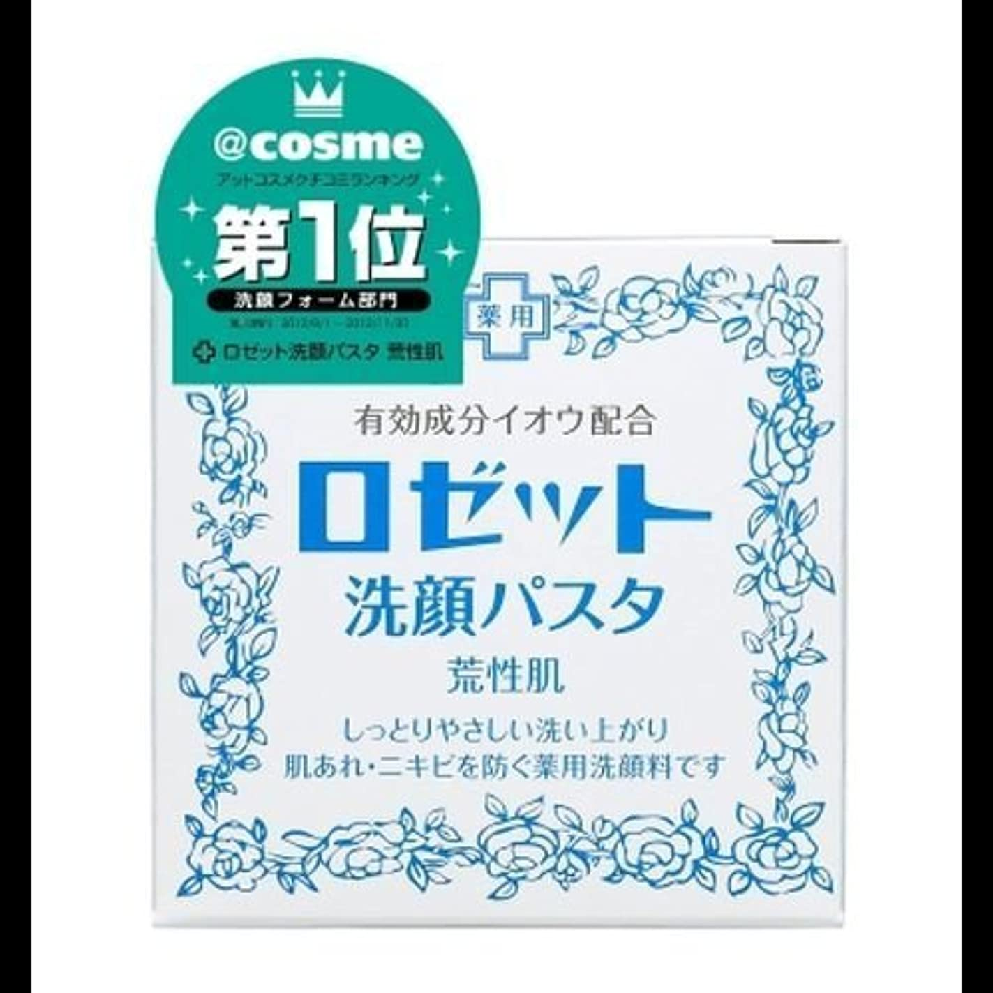 彫る一元化する六【まとめ買い】ロゼット 洗顔パスタ 荒性90g ×2セット