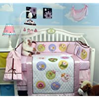 SoHo Happy Secret Garden Baby Crib Nursery Bedding Set 13 pcs by SoHo Designs