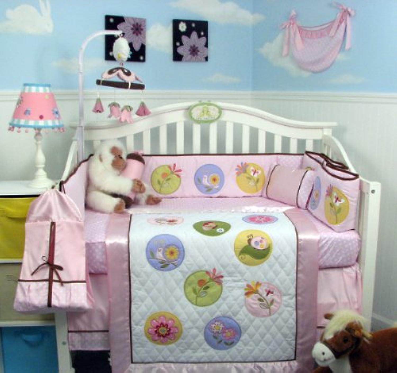 SoHo Happy Secret Garden Baby Crib Nursery Bedding Set 13 pcs by SoHo Designs