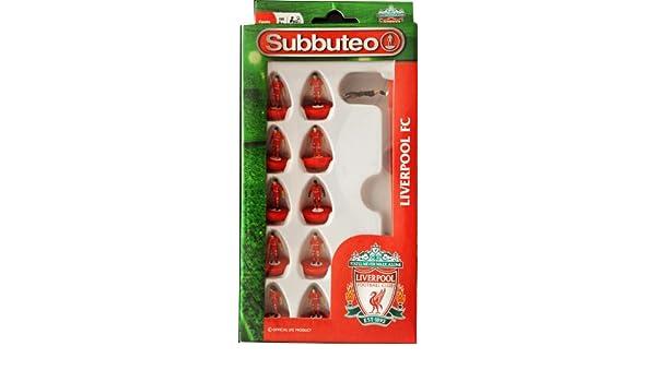 NEW Subbuteo Liverpool LFC Football Club Team Set