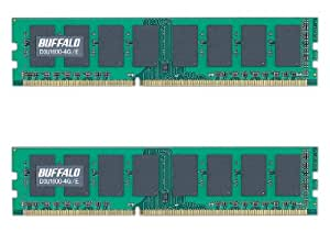 BUFFALO PC3-12800(DDR3-1600)対応 240Pin DDR3 SDRAM DIMM デスク用 2枚組 8GB(4GB×2) D3U1600-4GX2/E