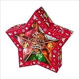 ゴディバ (GODIVA) ラッピングチョコレート クリスマス スター 20粒 -