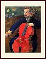 ゴーギャン・[Paul Gauguin] プリキャンバス複製画・ 額付き(デッサン額/大衣サイズ)