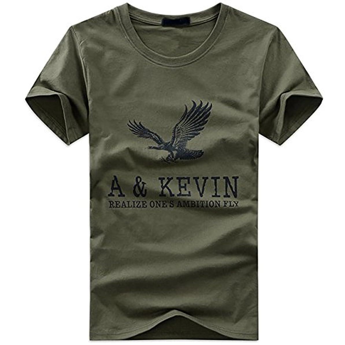 魅力的記念日尽きるBUZZxSELECTION(バズ セレクション) Tシャツ 半袖 キャラクター おしゃれ イーグル プリント メンズ レディース BTS009