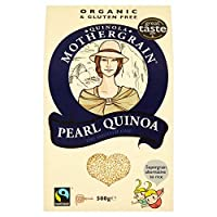Quinola Organic Pearl Quinoa 500 g (order 10 for trade outer) / Quinolaオーガニックパールキノア500グラム(商品アウター用のオーダ10 )