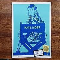 ケイトモス タトゥー ブルー DEATH NYC サイン入り 限定ポスター
