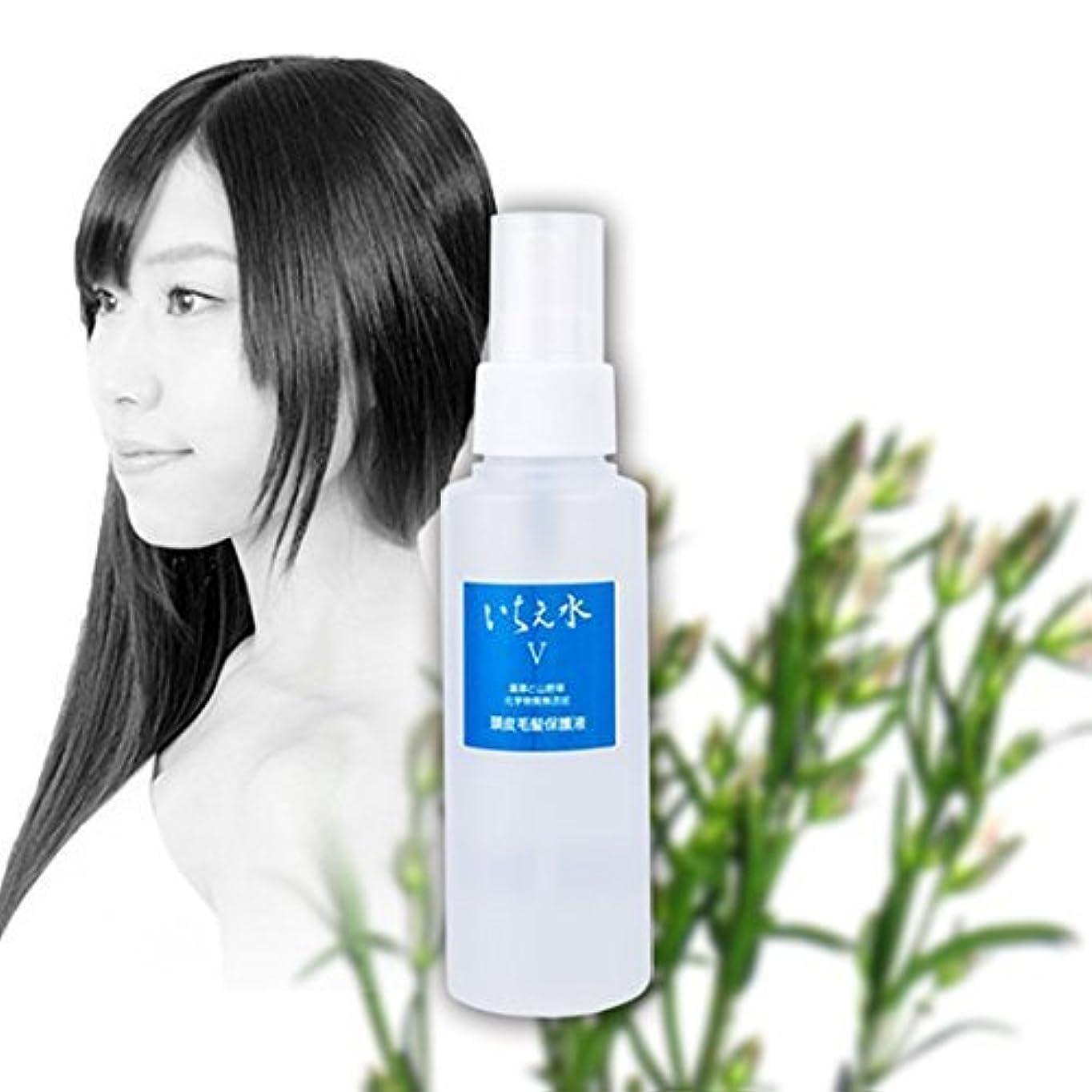 媒染剤インテリアシェード頭皮毛髪保護液 いちえ水5 100ml