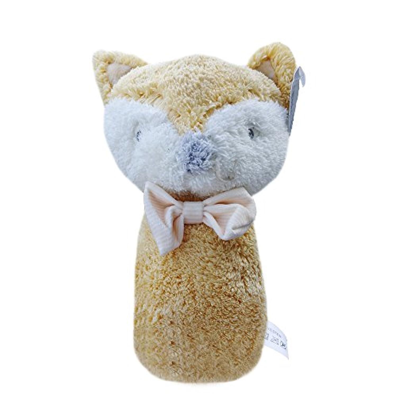 misslight Activity Plush RattlesクリップClop On Pram and Pushchair BabyおもちゃNurseryギフト one size my-fox-rattles