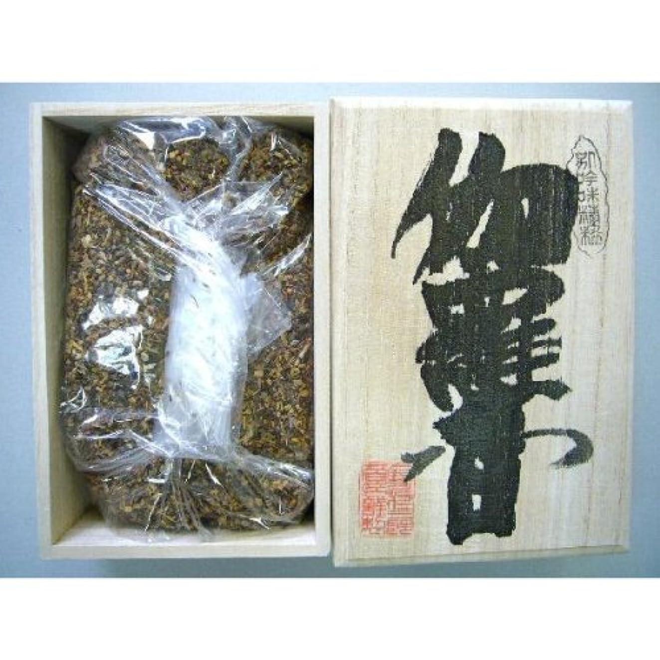 研磨冷淡なファンシー焼香 伽羅香250g桐箱入り 抹香