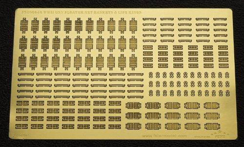 [해외]700 WWII 미국 해군 플로터 그물 바구니와 구명 튜브 FSM700046/1|700 WWII US Navy Floater Net Basket and Life Survivor FSM 700046