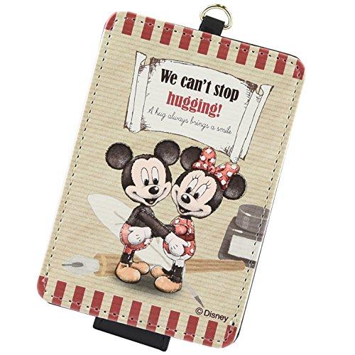 HUG-N-HAPPY ディズニー ICカードケース 定期入れ ミッキー & ミニー HUG-02Aの詳細を見る
