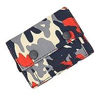 ピンクファンタジー の新しいヴィンテージデニムジーンズキャンバス財布最高の贈り物のボーイフレンドの短いジッパーコインバッグ財布陸軍迷彩男財布,3
