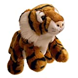 The Puppet Company Full-Bodied Animal Hand Puppets Tiger