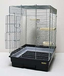 おやすみカバーB同梱 35小動物ケージ 水漏れ防止枠プラス ブラック底