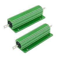 SODIAL(R) 100W 200 Ohm緑ハウジング巻線抵抗器 2件