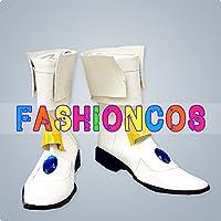 ★サイズ選択可★男性28CM UA0834 魔法少女リリカルなのは 高町なのは コスプレ靴 ブーツ