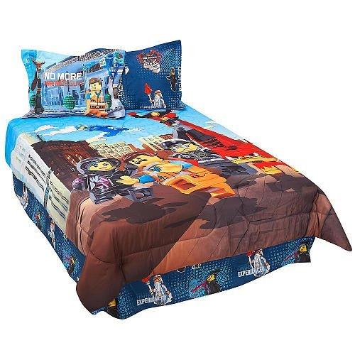 LEGO Movie 4-Piece Full Comforter Set - Frenzy [並行輸入品]