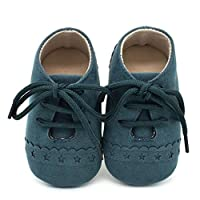 Aijoo ベビーシューズ 男の子 女の子 子供 おしゃれ ニーカー 歩行サポート 滑り止め キッズ 子供靴 屈曲性 赤ちゃん 可愛い 歩行練習 軽量 カジュアル (12cm, 緑)
