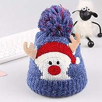 SAIDER クリスマス帽子 ぬいぐるみ帽子 サンタ帽子 コスチューム用小物 クリスマスの飾り ふかふか 暖かい 肌さわりよく 超かわいい 女の子 男の子 クリスマス/新年大活躍 パーティー