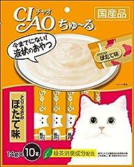 チャオ (CIAO) CIAOちゅ~る とりささみ ほたて味 14g×10本入り