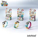 InfoThink / Disney TSUM TSUM ツムツム / リストバンド microUSBケーブル 22.5cm 充電&データ移行 / TSUM-CABLE-12 / BIG 3 & SMALL 9 ランダム