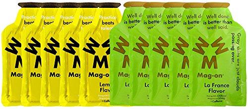 Mag-on マグオン エナジージェル 新味レモン5個 新味ラ・フランス5個 計10個セット