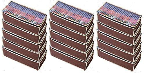 パッと見えるコミック収納袋5枚組×3セット たっぷり約450...