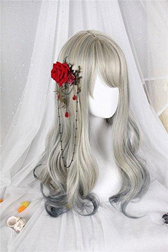 (インマン) INMAN フルウィッグ ウィッグ ロング ゆるふわ カール 巻き髪 自然 原宿 ロリータ 高品質 耐熱 グラデーション