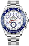 Rolex Yacht-Master II ホワイトダイヤル Oystersteel メンズラグジュアリーウォッチ 116680