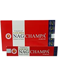 Agarbathi Vijayshree Golden Nag Champa Incense Sticks 15 g x 12