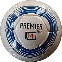 Perrini Premierインドアアウトドアスポーツブルー/ホワイトサッカーボールと一致サイズ4