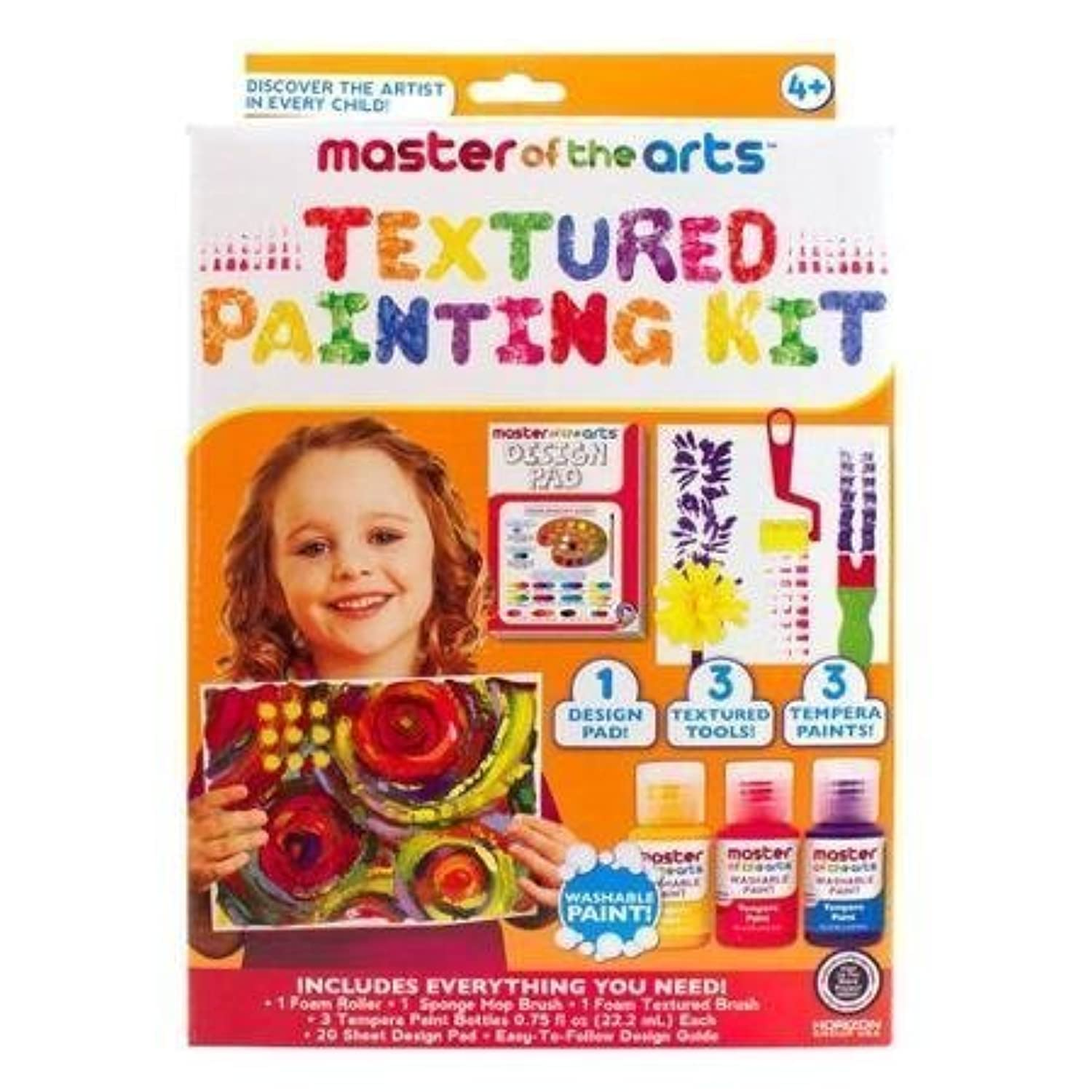 Master of the Arts Textured Painting Kit