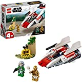 LEGO Star Wars Rebel A-Wing Starfighter Playset, 62 Pieces
