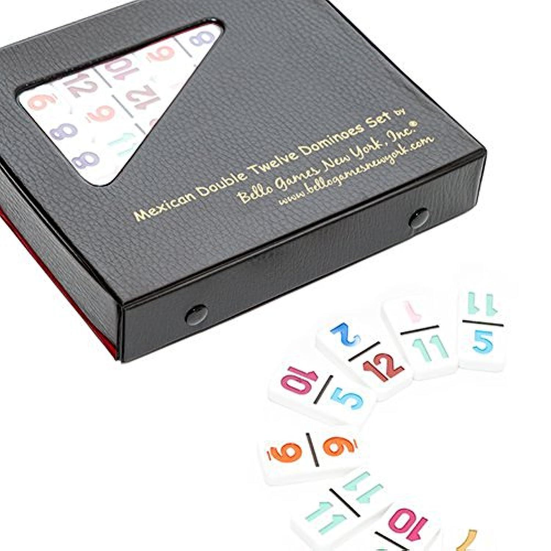 [ベロゲームニューヨーク]Bello Games New York, Inc. Bello Games Double Twelve Professional Numbered Domino Set 1012 Tiles Only [並行輸入品]