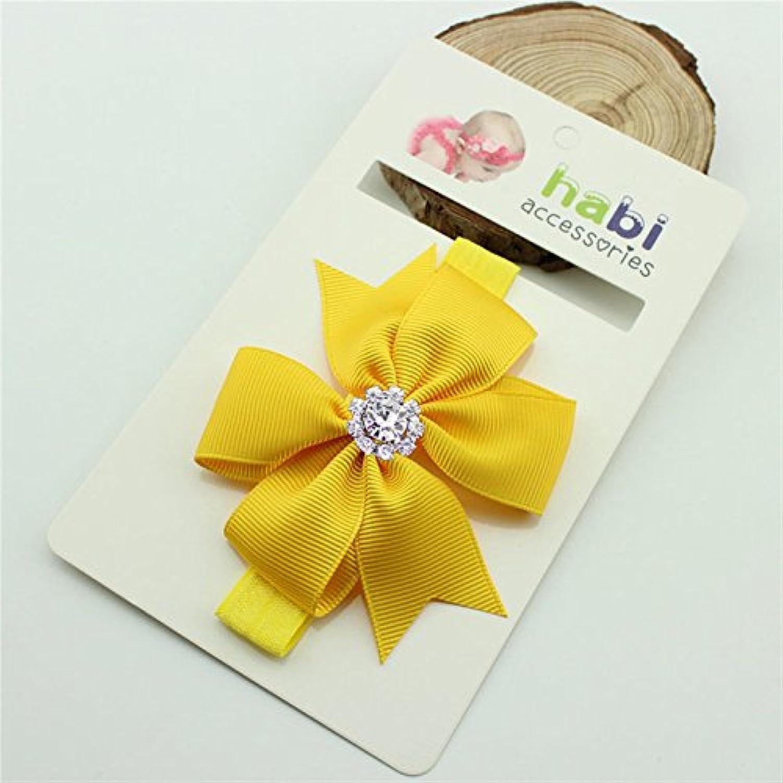 LuxBene(TM)女の赤ちゃんカチューシャかわいい蝶ネクタイプリンセスヘアアクセサリーカチューシャ子供の誕生日クリスマスギフトキッド幼児髪のリボン