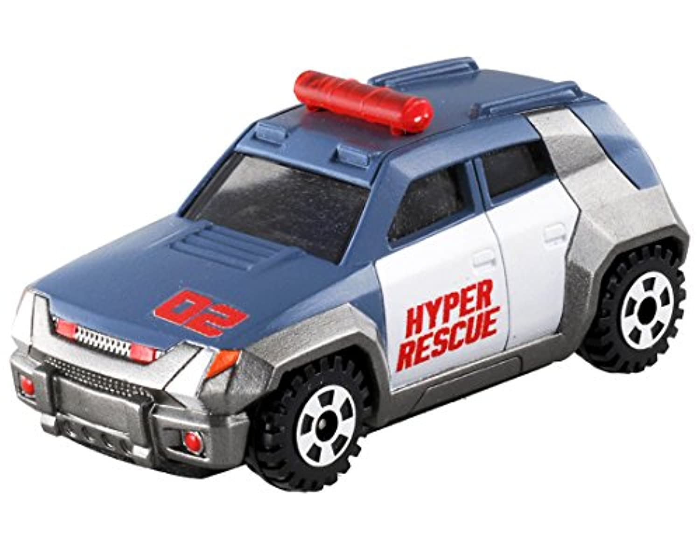 トミカ ハイパーレスキュー ドライブヘッド DHT-02 レッドサーチャー