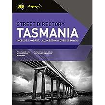 Tasmania Street Directory 21st ed: Hobart & Launceston