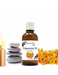 Calendula Oil (Calendula Officinalis) Essential Oil 10 ml or 0.33 Fl Oz by Blooming Alley
