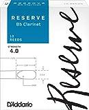 D'Addario  リード レゼルヴ スタンダード B♭クラリネット 強度:4.0(10枚入) ファイルドカット DCR1040