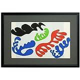 アンリ・マティス『ジャズ(珊瑚)』リトグラフ ・抽象画・【版画・絵画】【A1889】